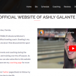 Ashly Galante PWBA Professional Bowler and Coach
