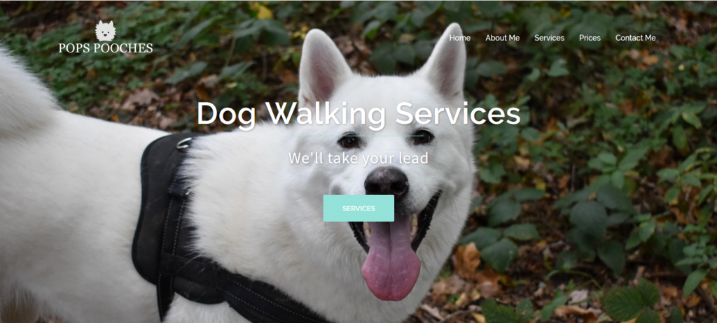 Pops Pooches Dog Walking Service