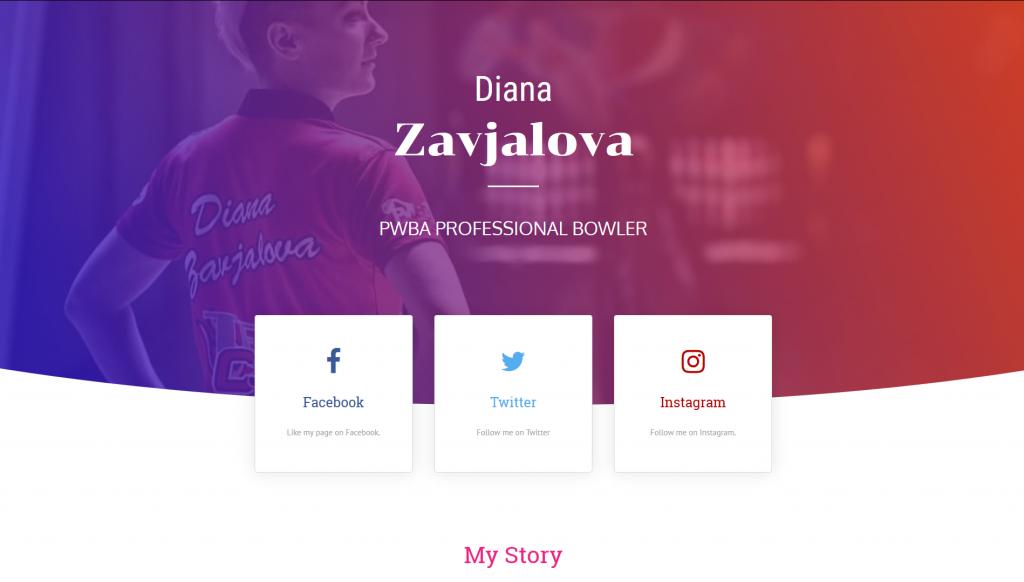 Diana Zavjalova - PWBA Professional Bowler
